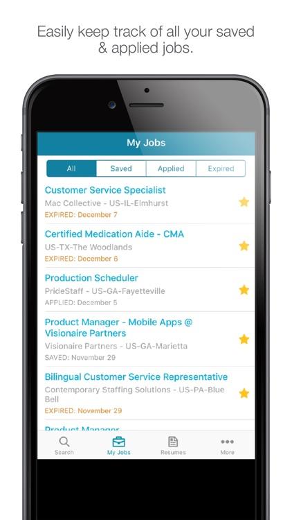 Jobs by CareerBuilder screenshot-3