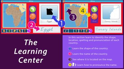 Africa - Montessori Geography screenshot 2