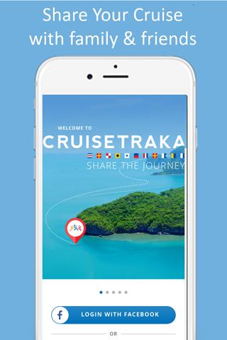 CruiseTraka -Share your cruise - náhled