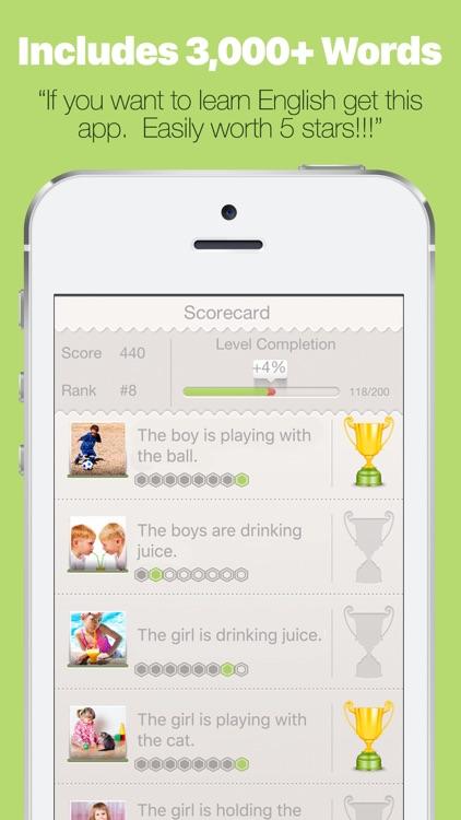 Learn English with Lingo Arcade PRO screenshot-4