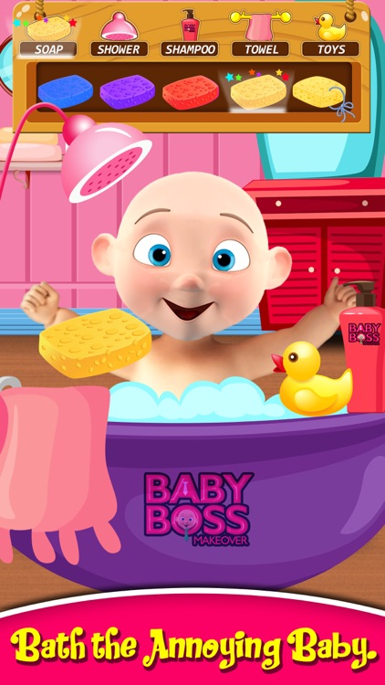 The Baby Boss Care, Dress up & Feed - Babysitting