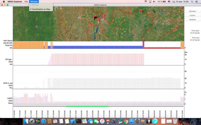NMEA Explorer скриншот программы 1