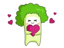 사랑에 빠진 브로콜리 부우!