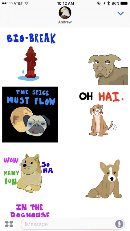 Chat's Best Friend - Animated Dog Stickers screenshot-4