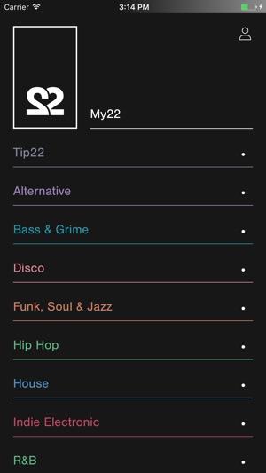 22tracks Screenshot