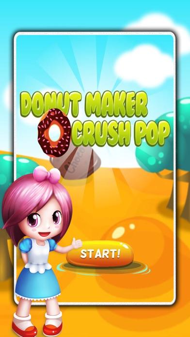 Donut Maker Crush Pop