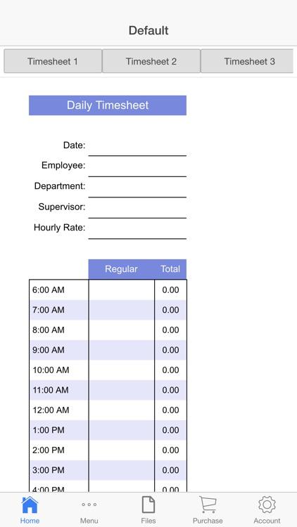 Business Schedule screenshot-3