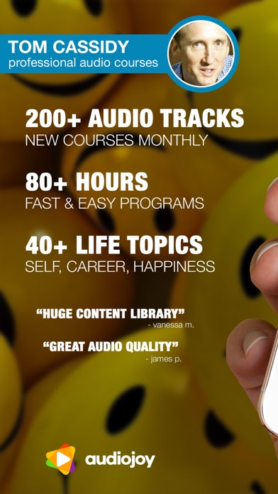 Happiness, Goals & Career Workshops by Tom Cassidy screenshot one