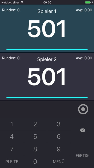 Screenshot for Easy Darts Score in Germany App Store