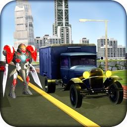 Robot Transporter Truck – Secret transport mission