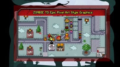 Zombie Tower Defence Castle Creeps TD Madness War screenshot one