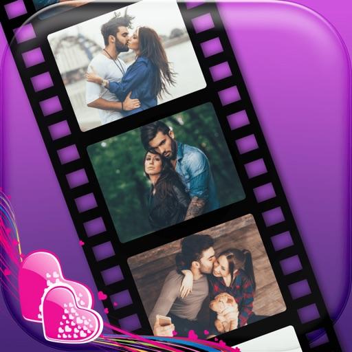 how to create romantic slideshow