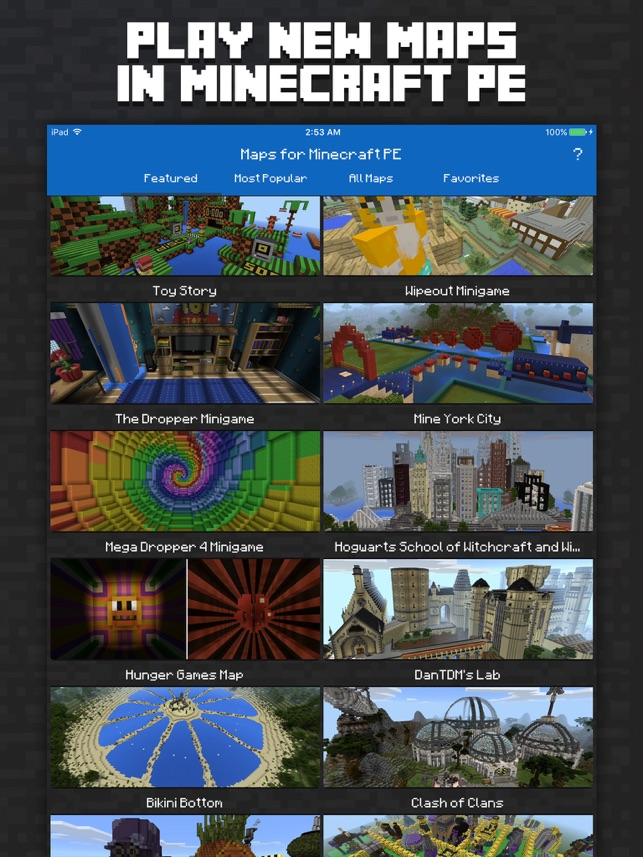 Maps for minecraft pe minecraft maps on the app store maps for minecraft pe minecraft maps on the app store publicscrutiny Choice Image