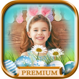 Happy Easter photo frames for album – Pro
