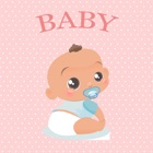How will my baby? and eye baby color icon