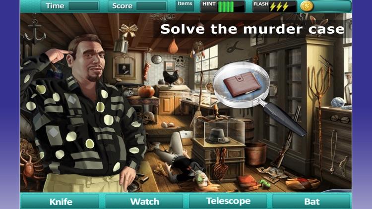 Hidden Object: Found Secret Clue Solve Mystery Pro screenshot-3