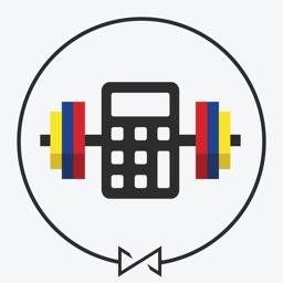 RackMath Barbell Plate Weight Calculator