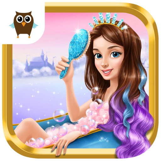 Princess Gloria Ice Salon - Frozen Beauty Makeover