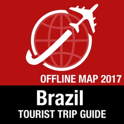 Brazil Tourist Guide + Offline Map
