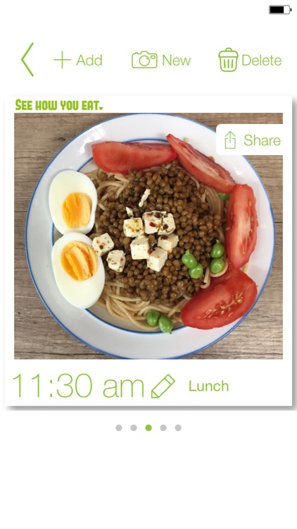 See How You Eat Diary - Easy to track food & meals