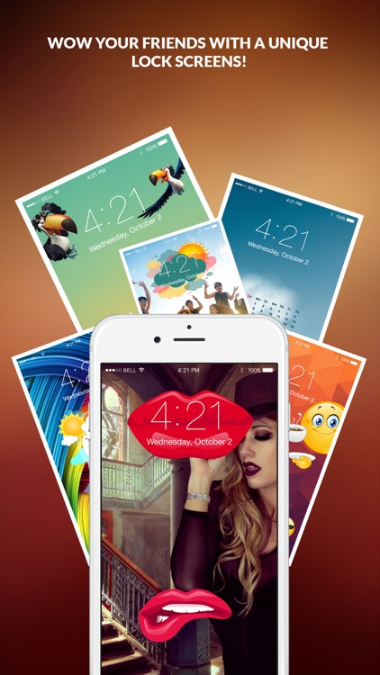 Lock Screens - Wallpapers & Background Themes