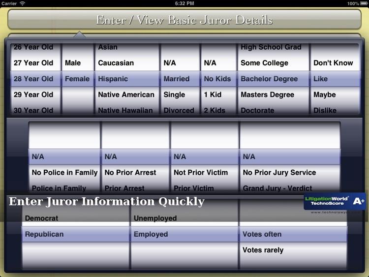 iJuror screenshot-3