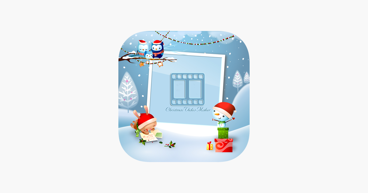christmas video editor special effect on the app store
