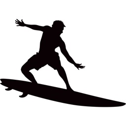 Surfing and Water Sports Stickers