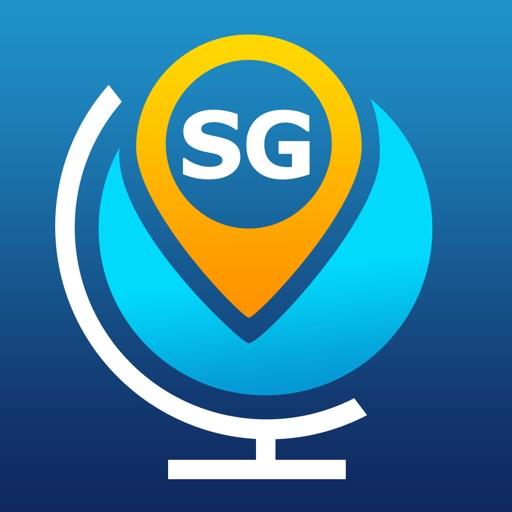 Сингапур Путеводитель и оффлайн Карта