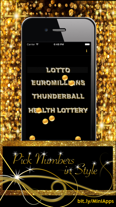 Lottery Number Picker screenshot one