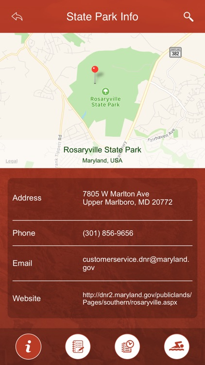 Maryland State Parks, Trails & Campgrounds screenshot-3