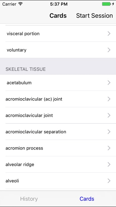 EMS Flashcards - Anatomy and Physiology Vocab | App Price Drops