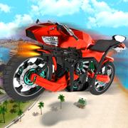 飞行 无人机 自行车 机器人 : 极端 摩托车