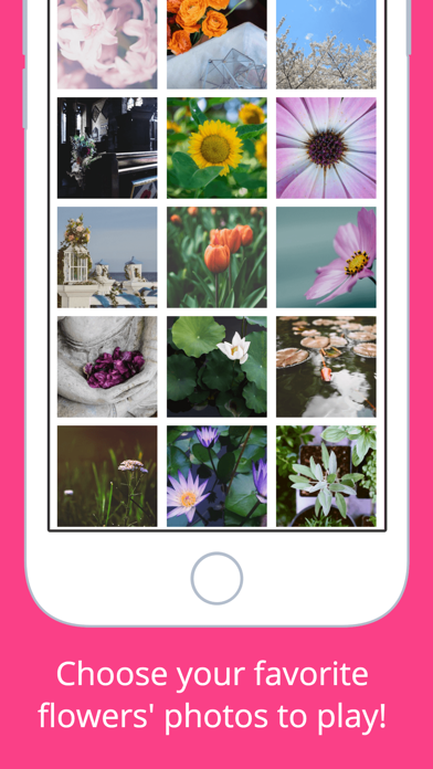 Flowers Puzzle - Play with your favorite flowers screenshot two