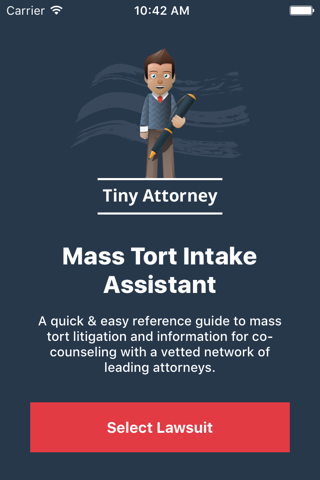 Tiny Attorney - Mass Tort Intake Assistant - náhled