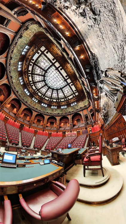 VR Italian Parliament in Rome Virtual Reality 360 screenshot-4