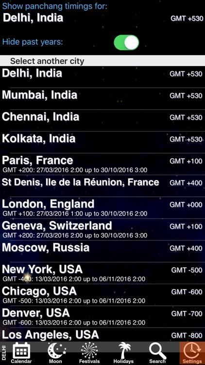 India Panchang Calendar 2013 screenshot-4