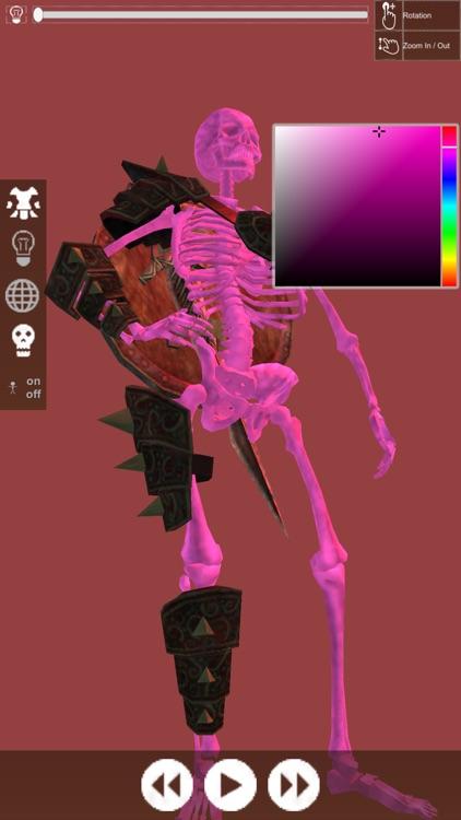 3D Pose Drawing : Fantasy Skeleton Warrior screenshot-3