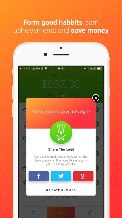 Blinq: Simple Expense Tracker Spendings Analytics screenshot-3