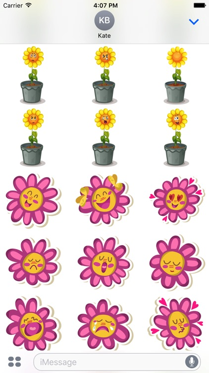 Flower Power Emoji screenshot-2
