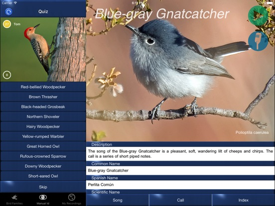 Bird Song Id USA Automatic Recognition Birds Songs-ipad-3