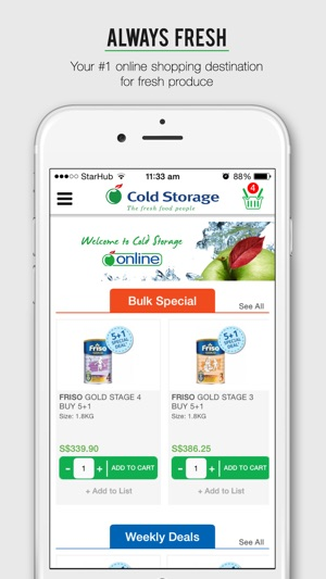 iPhone Screenshots  sc 1 st  iTunes - Apple & Cold Storage Mobile on the App Store