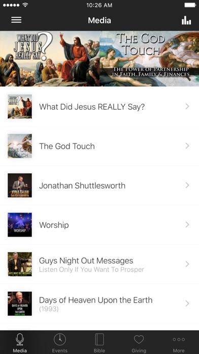 Faith Christian Center screenshot one
