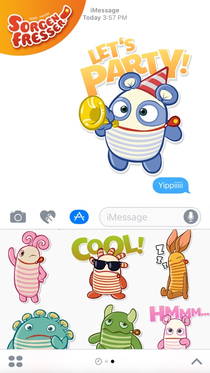 Sorgenfresser Emojis