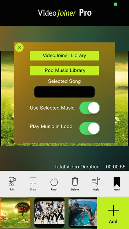 VideoJoiner - Video Editor to Merge & Edit Movies screenshot-1