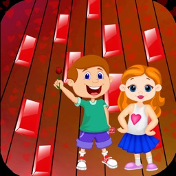 Piano Tile Valentines - Free Music Games For Love