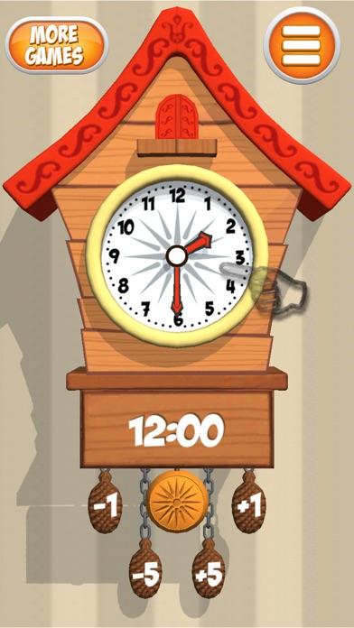 Cuckoo Clock Telling Time screenshot two