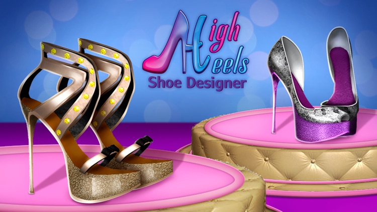 High Heels Shoe Designer: Fashion Shoes Game.s screenshot-4