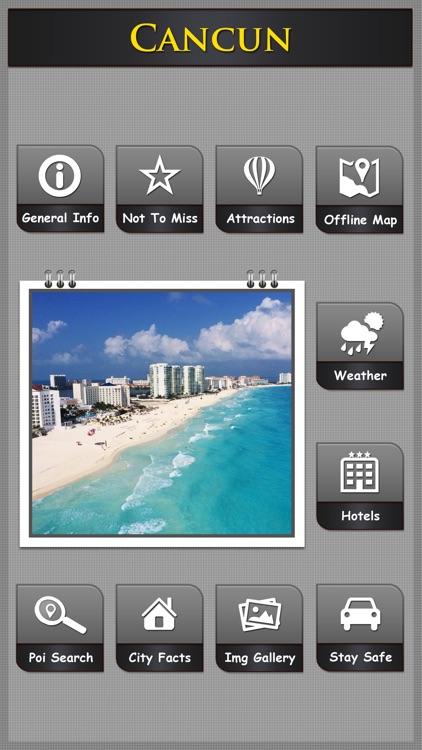 Cancun City Travel Explorer