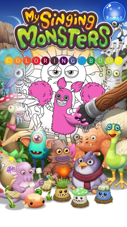 My Singing Monsters Coloring Book